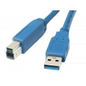 USB 3.0 cable Male A-B 2m