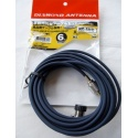 Mobile antenna cable with SO239 (3m)