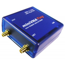 miniVNA Tiny 1-3000 MHz Analyzer & RF Generator
