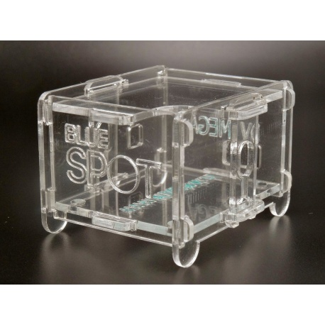 Transparent case for BlueDV Hotspot DMR D-Star Case and box BLUESTACK-BOITIER2-TRANS-405