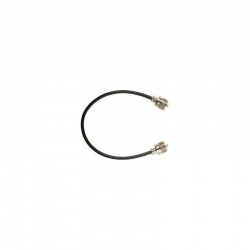 RG58 coaxial cable 6mm, PL-PL cord 50 centimeters 50 Ohms