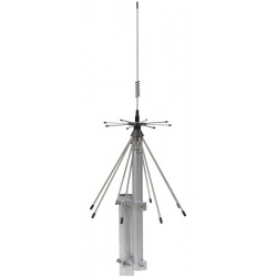 Discone Antenna SIRIO SD 3000 N, broadband covering all