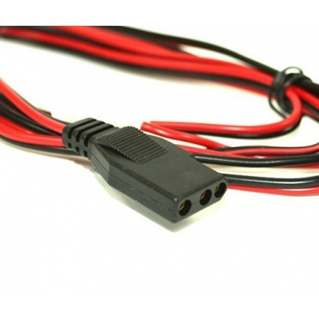 Power cable 12V Midland for CB 3-pins Midland France Power supply CRT-CABLE-MIDLAND-T060-446