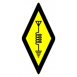 International Amateur Radio Symbol Sticker