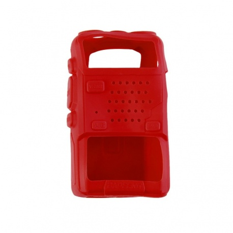 Protective Soft Case for Baofeng UV5R Baofeng Handheld case ETUI-BAOFENG-UV5R-ROUGE-2403