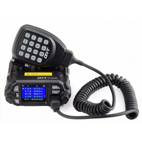 Mobile VHF-UHF QYT KT-8900D Quad Watch