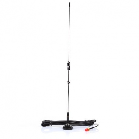 Magnetic Nagoya antenna 144/430Mhz 53cm for handheld