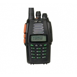 Handheld CRT 4CF V2 144/430Mhz + Transponder + AM Air Band 8.33Khz CRT France HT Handheld CRT-TALKIE-4CF-552