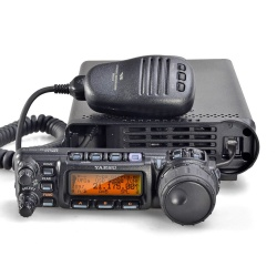 The Yaesu FT-857D is one of the most successful multi-band