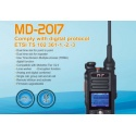 NEW TYT MD-2017 Dual-Band VHF+UHF / FM+DMR / GPS (option)