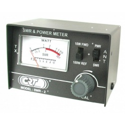 SWR & Power Meter 26-30Mhz 10-100W CRT CRT France SWR-Power meter CRT-SWR2-571