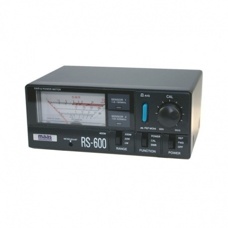 SWR-Power meter 1.8 - 525Mhz 400W MAAS RS-600 CRT France SWR-Power meter CRT-MAAS-RS600-116