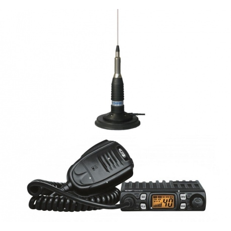 Car Pack 27Mhz + Magnetic Antenna CRT France Mobile VHF UHF PACK-CB-CRT-START-574