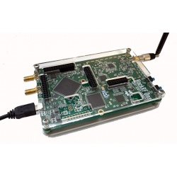 Clear Acrylic Case for HackRF One by GSG Great Scott Gadgets SDR accessory GSG-BOITIER-TRANS-526