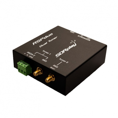 SDRPlay RSPduo 1KHz to 2GHz Double Tuner 14 Bit SDRPlay SDR receivers SDRPLAY-RSP-DUO-594