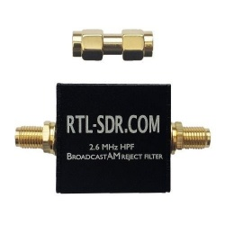 Broadcast AM Band Cut filter by RTL-SDR.com RTL-SDR.com SDR accessory FILTRE-RTLSDR-523
