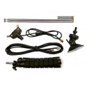 Telescopic dipole antenna pack for RTL-SDR key (SMA and MCX)