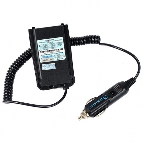 Car battery eliminator 12v for Wouxun KG-UV8D and KG-UV8D PLUS Wouxun Accessories HT WOUXUN-CIGARE-ELO-003-652