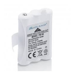 Battery 700 mAh for Midland XT50 / 60 Midland France Accessories HT MIDLAND-PB-X6-637