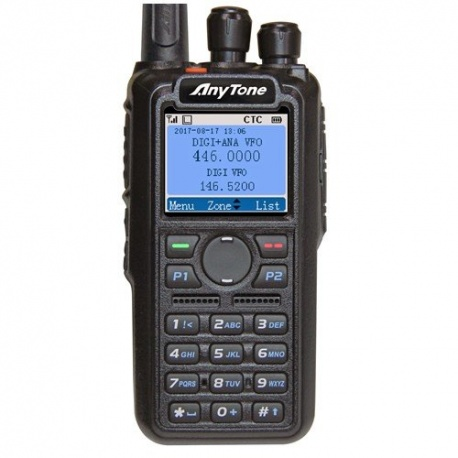 Anytone DMR handheld AT-D868UV V2 VHF+UHF GPS