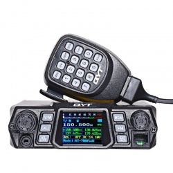 The  QYT KT-780 PLUS  mobile covers in RX and TX  144-146