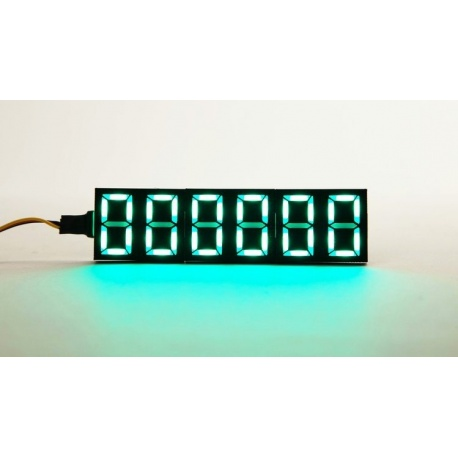 Programmable 7-digit LED display Neosegment