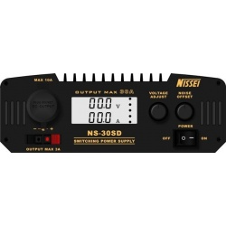 NISSEI NS-30SD compact power supply , 13.8 V (or adjustable