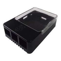 Case for Raspberry Pi 1, 2 & 3 Model B/B+ Raspberry Pi Case and box BOITIER-RASPBERRY-NOIR-524