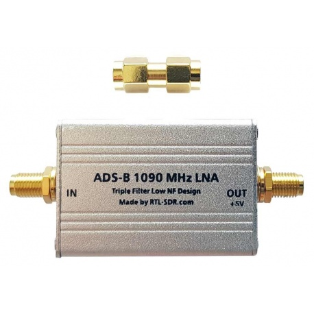 LNA for ADS-B & SAW filter for 1090 Mhz RTL-SDR.com Aviation ADS-B RTLSDR-LNA-ADSB-309