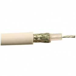 Coaxial cable RG58 low loss per meter