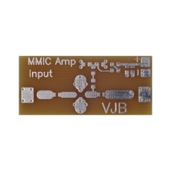 MMIC prototype circuit board for coaxial Kent Electronics Accessories WA5-PCB-MMIC-COAX-773