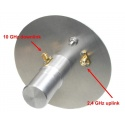 2.4 & 10 GHz Dual feed Antenna for Es'hail 2 / QO100