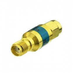 RF attenuator SMA male 0-6Ghz in -3, -6 or -10dB