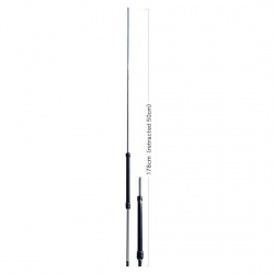 Wide Band Portable Mobile Antenna 7-50Mhz Diamond RHM8