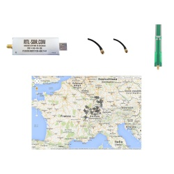 Pack Start ADS-B 1090Mhz SDR portable reception Passion Radio Aviation ADS-B PACK-START-ADSB-834