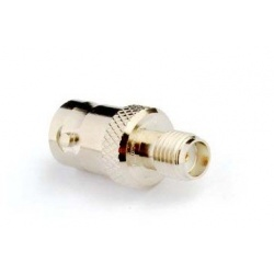 Adapter BNC Female - SMA Female Passion Radio RF Cables & Adapters ADAPT-BNC-F-SMA-F-55