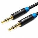 Jack splitter audio stereo cable 2x 3.5mm Vention