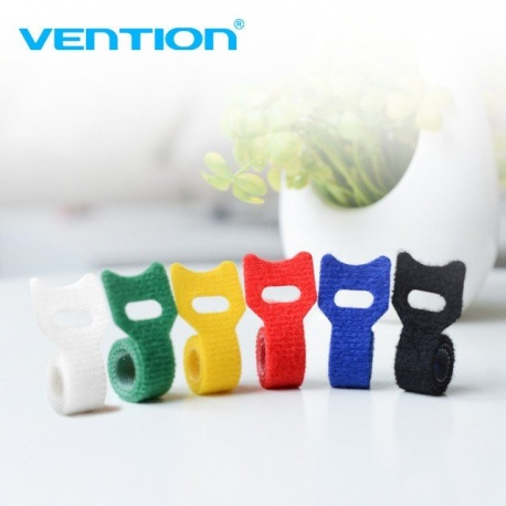 Velcro cable tie with buckle - Vention Vention RF Cables & Adapters CABLE-VENTION-VELCRO-KAC00-853