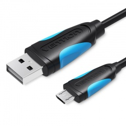 USB 2.0 Micro-USB Male A Cable - Male B Vention