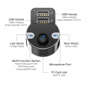Bluetooth 4.2 MP3 player for car + USB charger