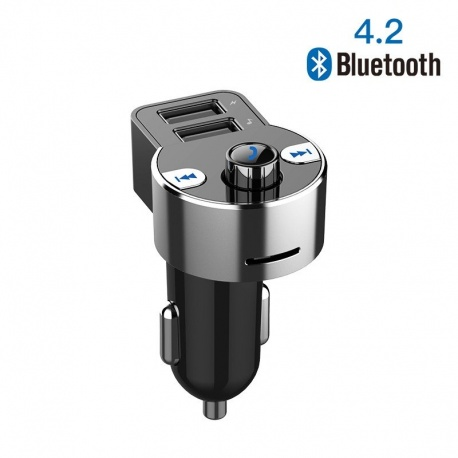 Transmitter Bluetooth + MP3 player + USB charger Vention Accessories for car VENTION-BLUETOOTH2-CJCB0-864