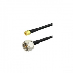 Coaxial cable F Male to SMA Male RG58 1 to 10 meters