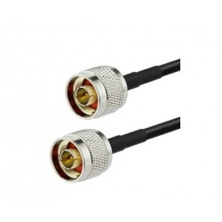 Coaxial cable low loss N Male KSR195 Passion Radio N CABLE-COAXIAL-N-M-1M-877