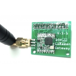 LoRa Gateway 1 channel 868 Mhz for Raspberry Pi Tindie Gateway TINDIE-LORA-PASS1-888