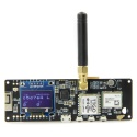 LoRa GPS node 433 & 868 Mhz TTGO Bluetooth WIFI
