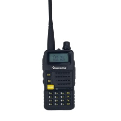 Walkie-Talkie QS UV-R50 (V2) 144-430Mhz 5W Dual-Watch Quansheng HT Handheld QS-UV-R50-NOIR-HAM-9053