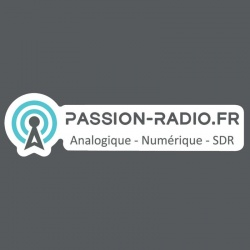 Sticker logo Passion-Radio.fr Passion Radio Stickers AUTOCOLLANT-HAM3-920
