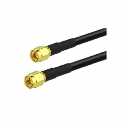 Coaxial cable low loss 2X SMA Male Passion Radio SMA CABLE-COAXIAL-SMA-M-1M-302