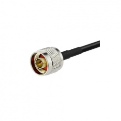 Coaxial Cable N Male and Bare end low loss KSR195 Passion Radio N CABLE-COAXIAL-N-M-NU-970