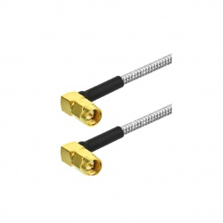 Coaxial cable RG-402 with SMA Male angled x2 Passion Radio SMA CABLE-RG402-SMA-COUDE2-991